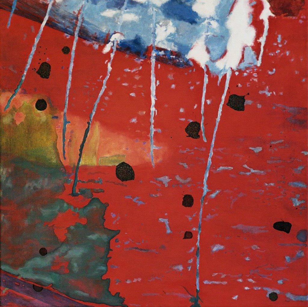 Acryl, Farbpigmente und Tusche auf Leinwand, 2007